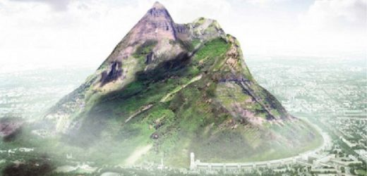 VIDEO: Artificial Mountain to bring rain in UAE?