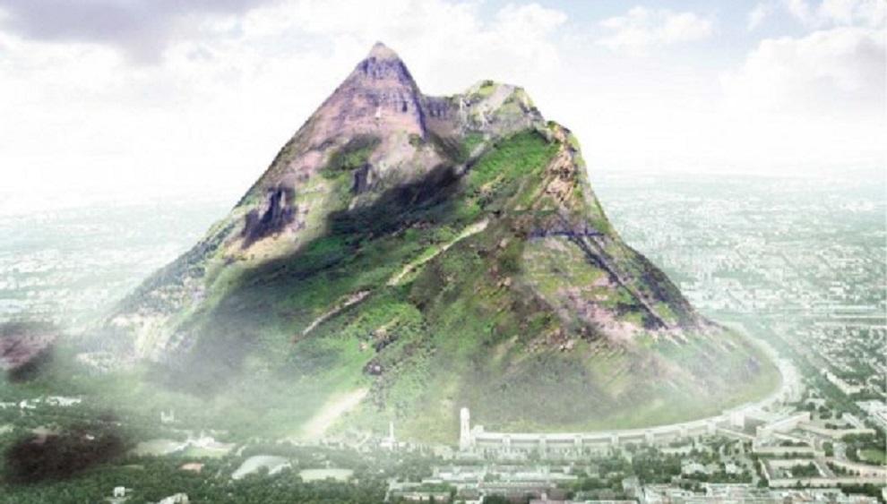 VIDEO: Artificial Mountain to bring rain in UAE?