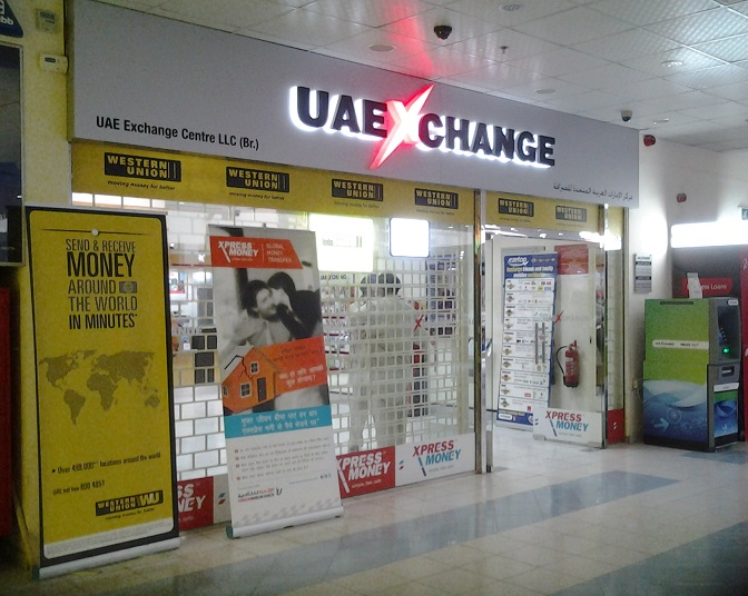 UAE Exchange in Stadium Station, Dubai