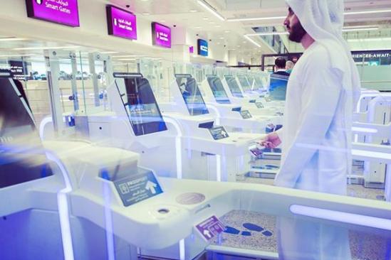 Dubai Terminal 2 has Smart Gates now