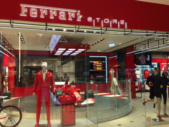 Ferrari Store Dubai