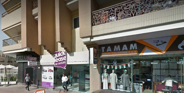Quicklease car rentals in Al Barsha, Dubai