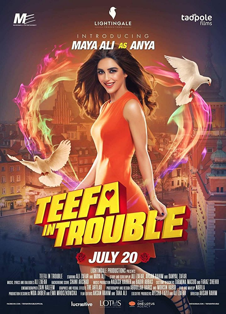 TEEFA IN TROUBLE (2018) con ALI ZAFAR + Sub. Español + Online Teefa-In-Trouble-movie-release-date-showtimes-Dubai