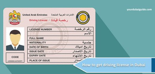 How to get driving license in Dubai?