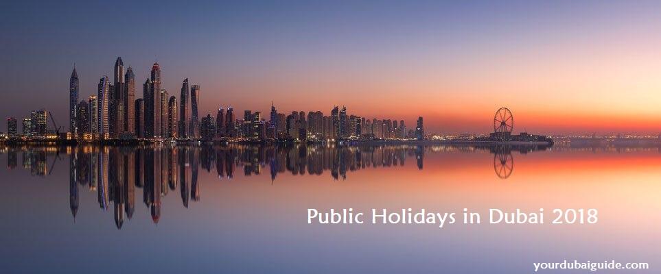 Dubai Public Holidays 2018