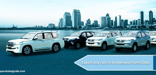 How to export any cars in to overseas from Dubai?