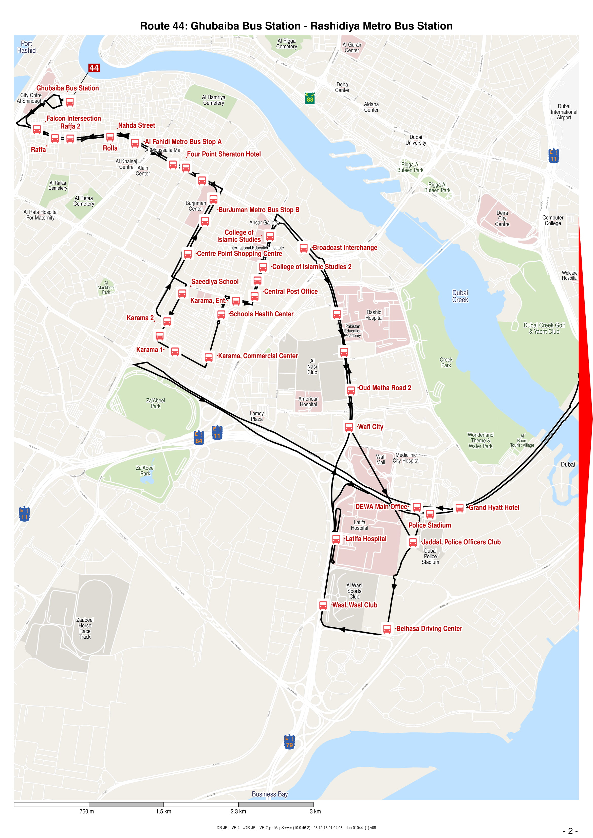 S44 Bus Time >> 44 Bus Route In Dubai Time Schedule Stops And Maps Your Dubai Guide