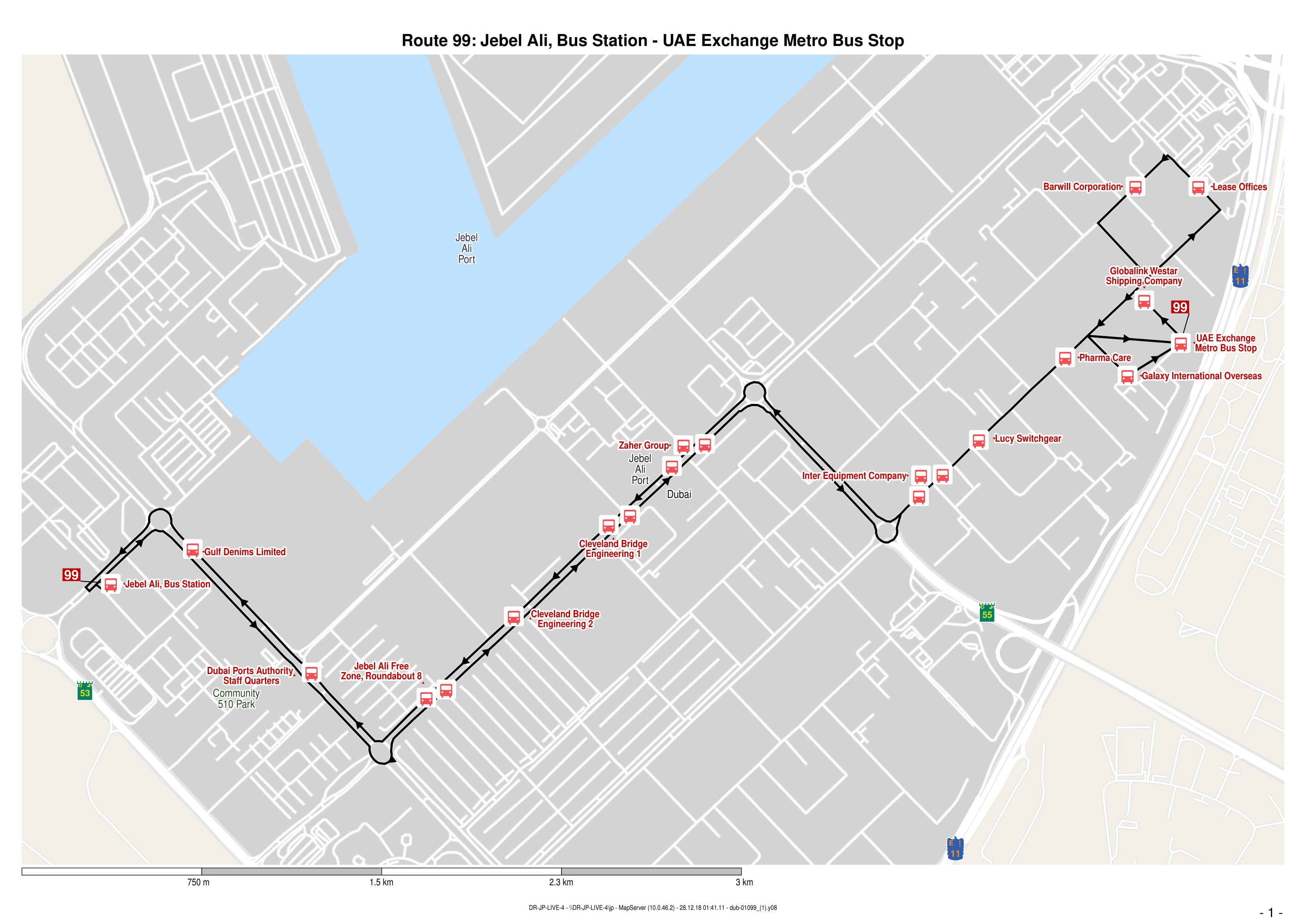 View 99 Bus Route Map Click To Enlarge