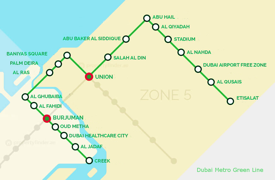 Riga Subway Map.Dubai Metro Green Line Your Dubai Guide