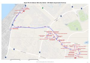 F46 Bus Route In Dubai Time Schedule Stops And Maps