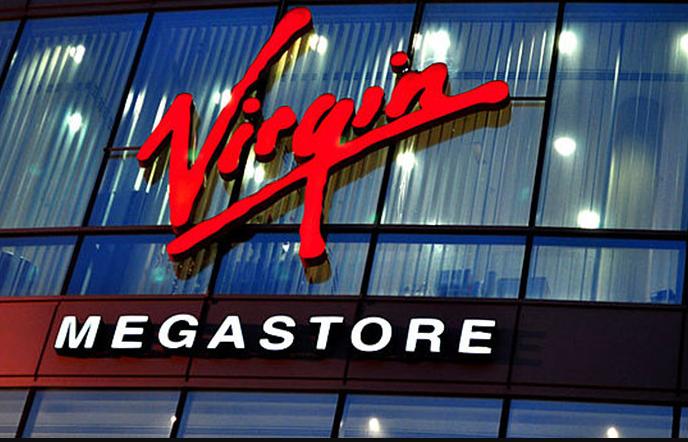 Virgin Megastore Store in Deira City Center, Dubai
