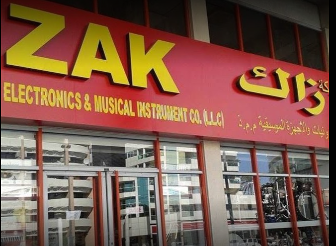 Zak Electronics and Musical Instruments Co Store in Zabeel Road, Dubai