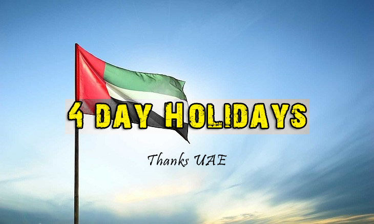 Super Long 4 Day Weekend For Uae National Day