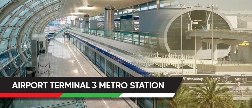 Airport Terminal 3 Metro Station