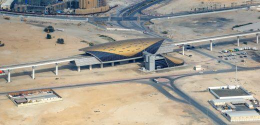 Al Jadaf Metro Station