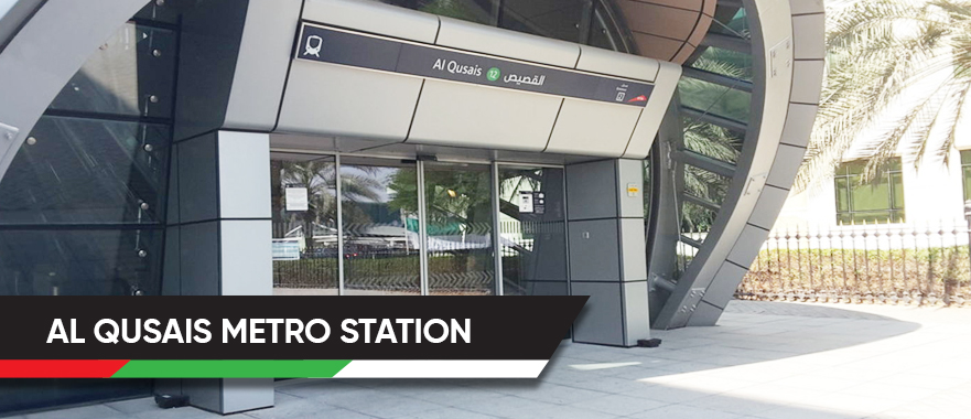 Al Qusais Metro Station
