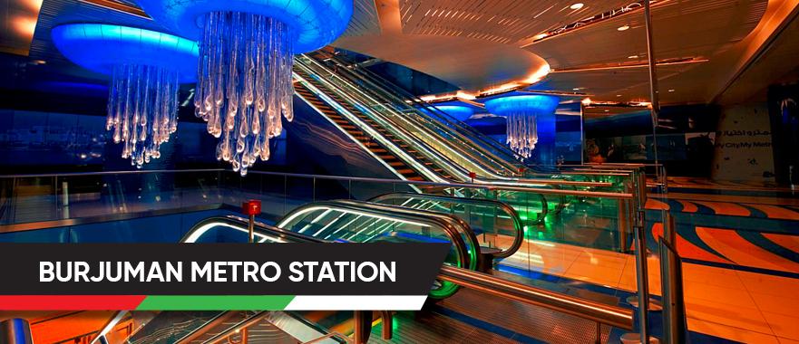 BurJuman Metro Station