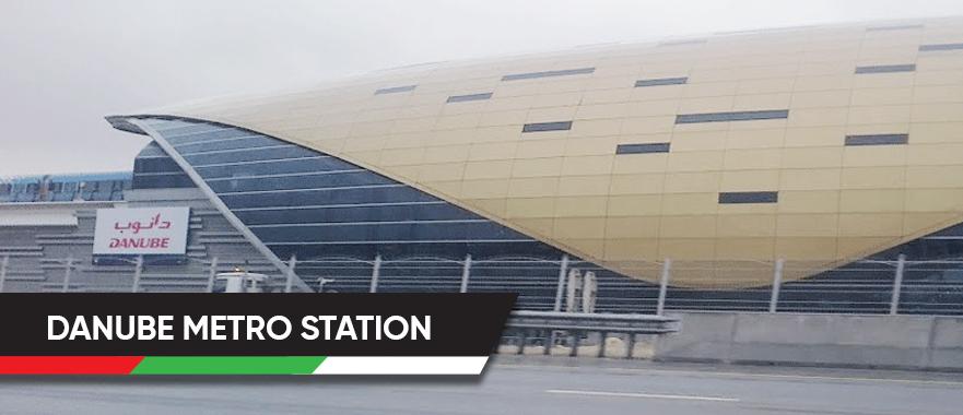 Danube Metro Station