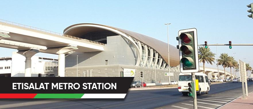 Etisalat Metro Station