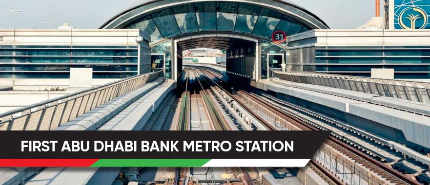 First Abu Dhabi Bank Metro Station