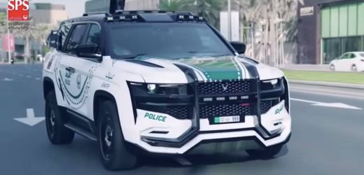 VIDEO: Ghiath – Dubai's fully loaded Police Car