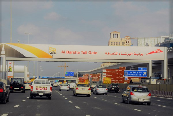 How to avoid Salik Toll Gates in Dubai?