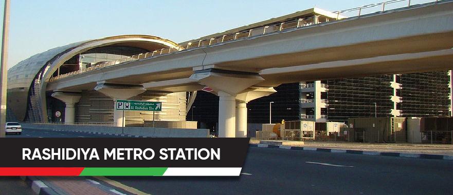 Rashidiya Metro Station
