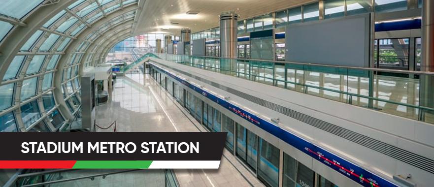 Stadium Metro Station