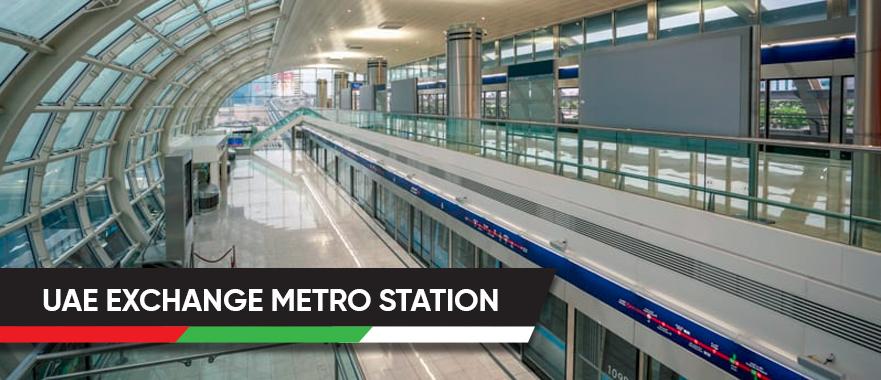UAE Exchange Metro Station