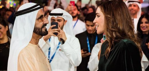 Queen Rania Awarded Personality of the Year