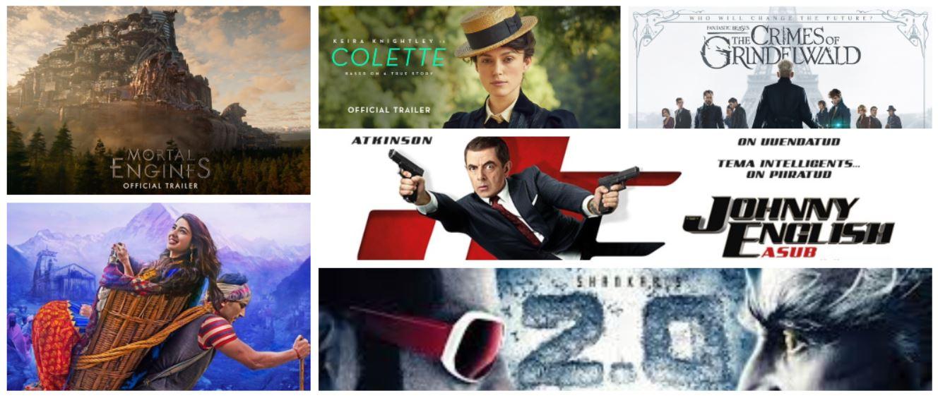 Movie Trailers this week in Dubai