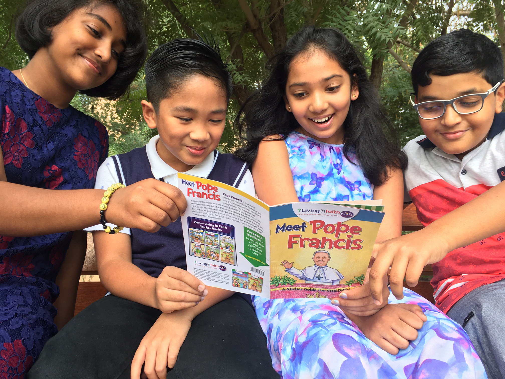 'Meet Pope Francis in the UAE' Kids Book Launched
