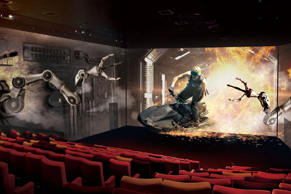 270-degree ScreenX Amazes Movie Buffs in Dubai Mall