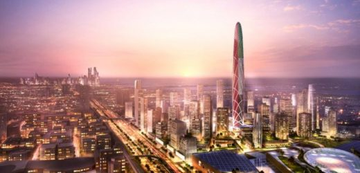 Burj Jumeira – Super Tall Tower Rising In Dubai