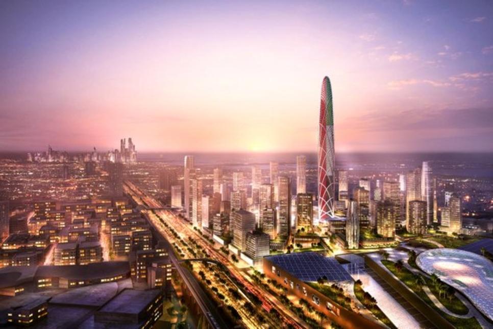 Burj Jumeira – Super Tall Tower Rising In Dubai
