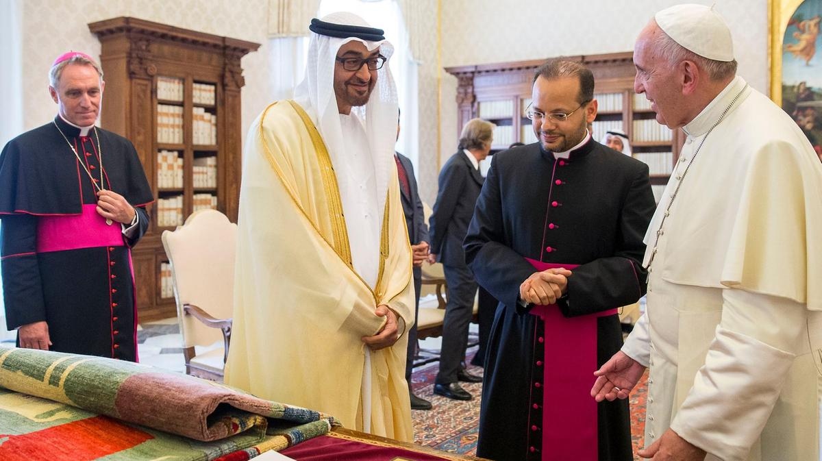 UAE Leaders Welcome Pope Francis At His Historic Visit