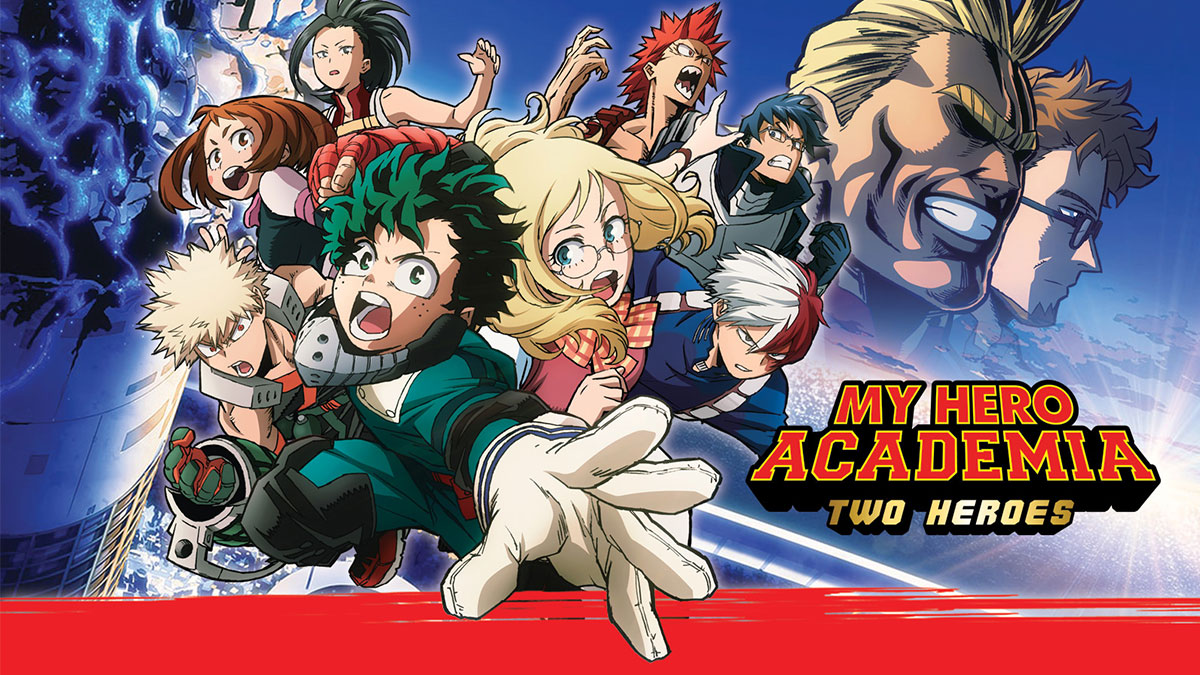 My hero academia: two heroes- Japanese  Movie, English Movie in Dubai