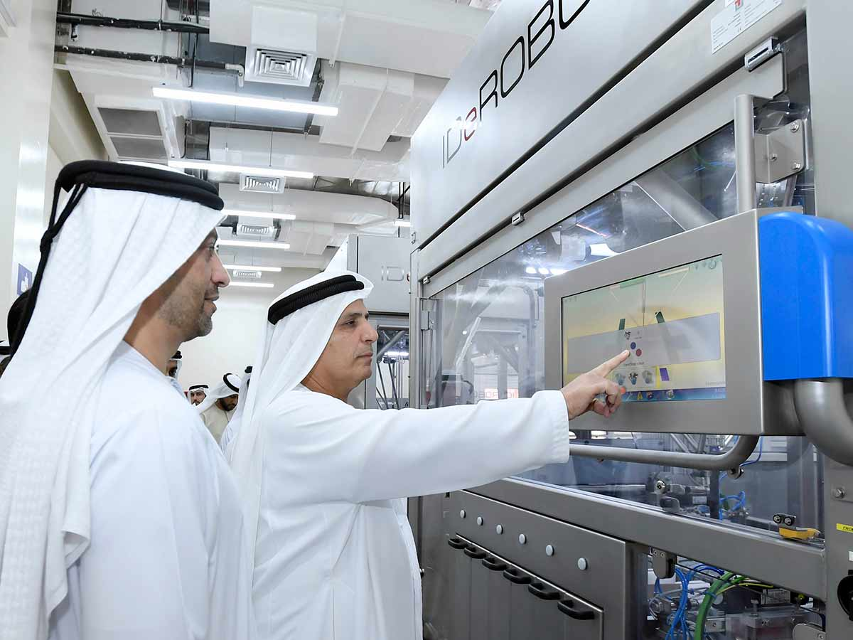 World's First Robot Operated Number Plates Factory Opening In Dubai