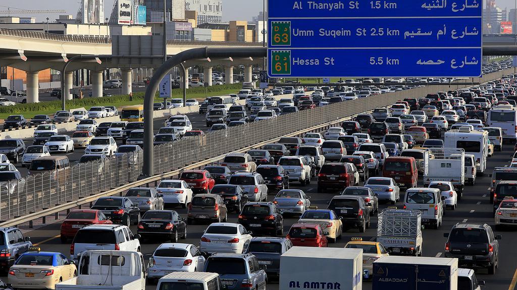 Caution: 5 Most Accident-prone Roads in Dubai Revealed this Ramadan