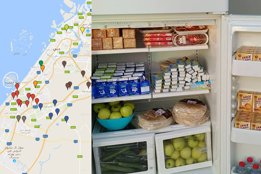 Here's Where To Find All Dubai's Ramadan Sharing Fridges