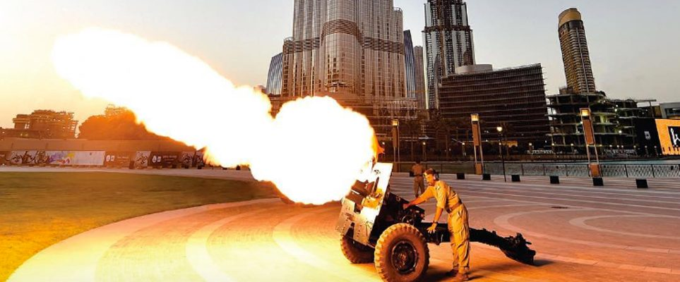 Here's Where You Can Spot Dubai's Iftar Cannon