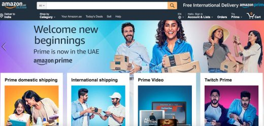 Amazon Prime Now in the UAE