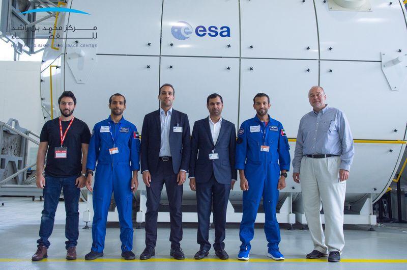 UAE astronauts complete training in ESA