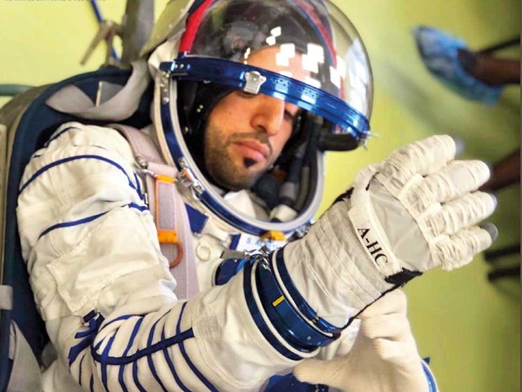 UAE astronauts try out customized spacesuits