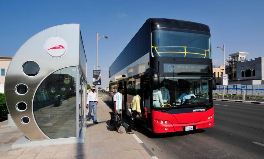 How to track Dubai Bus location live with Wojhati App?