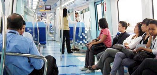 Filipino fined Dh300 for sleeping in Dubai Metro