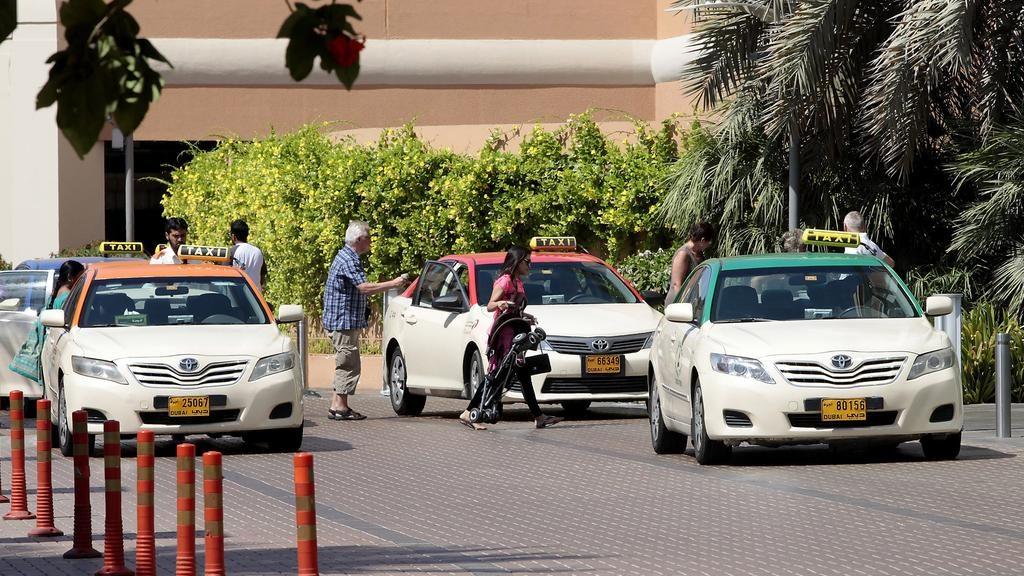 Free WiFi in Dubai Taxis