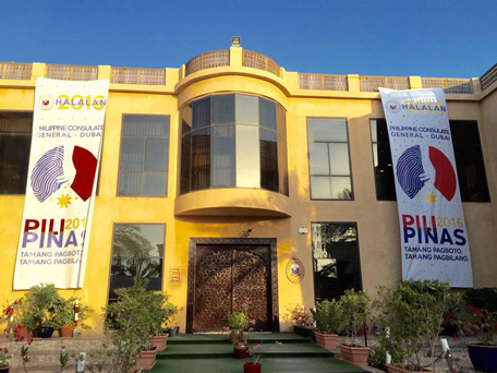 Philippine Consulate General Embassy in Dubai