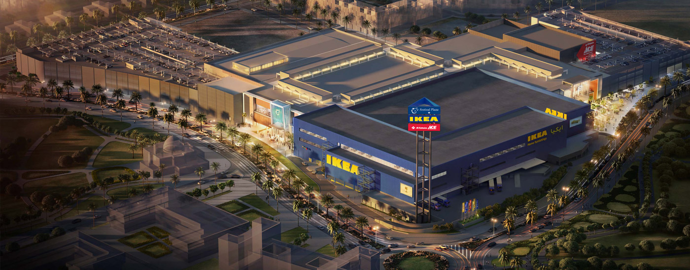 Festival Plaza mall with IKEA and LULU in Jebel Ali Opening this Dec 18