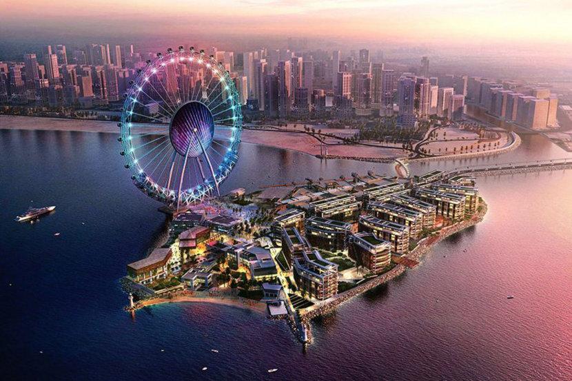 Ain Dubai Opening with World Expo 2020